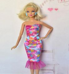 Modest Barbie Clothes-Barbie Doll Dress-Barbie Shoes
