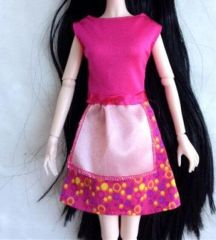 Barbie Doll Dress-Modest Barbie Clothes-Barbie Shoes