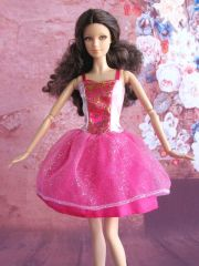 Satin Barbie Princess Dress-Modest Barbie Clothes-Shoes