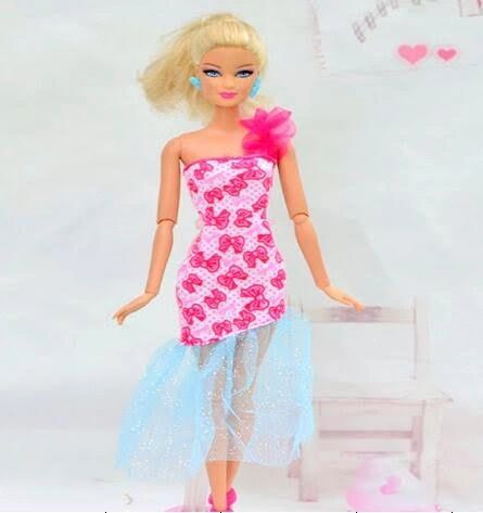 Fun Barbie Dress-Barbie Shoes