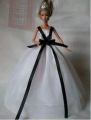 Fancy Barbie Gown-Modest Barbie ClothesShoes