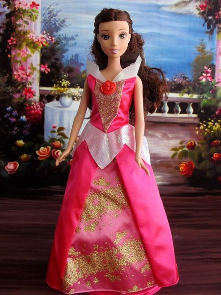 Pink Barbie Princess Dress Barbie Shoes