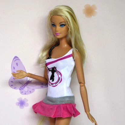 Barbie Tennis Wear-Sneakers