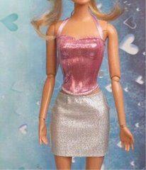 Barbie Skirt-Barbie Shirt Set-Modest Barbie Clothes-Shoes