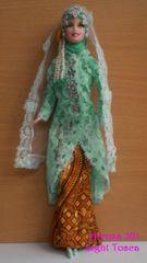 Barbie Wedding Dress-Veil-Jacket-Skirt-Blouse-Shoes-Jewelry