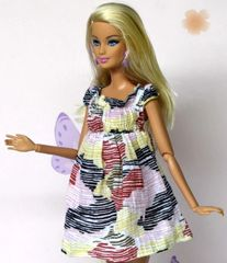 Cotton Barbie Dress-Modest Barbie Clothes-Shoes