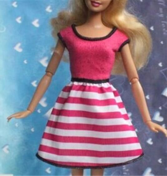 Pink Barbie Dress-Barbie Shoes