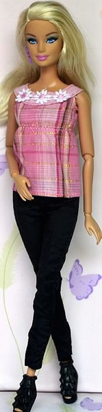 Barbie Casual Wear-Modest Barbie Outfit-Shoes