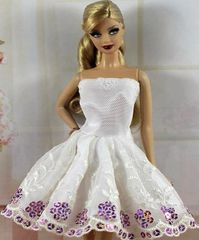 Barbie Dress-Modest Barbie Clothes-Barbie Shoes