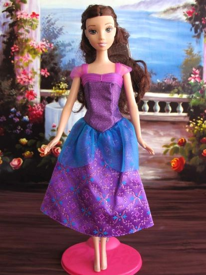 Purple Barbie Princess Dress Barbie Shoes