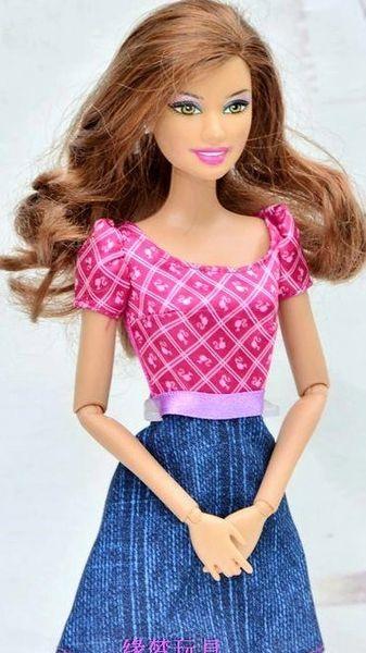 Barbie Dress-Modest Barbie Clothes-Pink Barbie Shoes