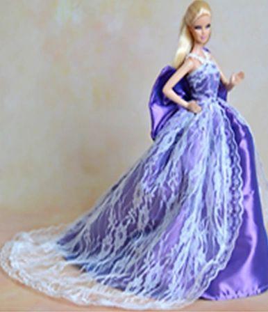 Fancy Barbie Gown-Shoes