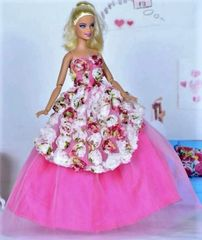 Barbie Gown-Barbie Shoes
