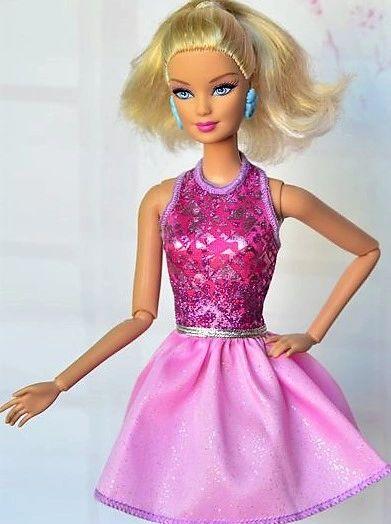 Sparkly Barbie Dress Modest Barbie Clothes Shoes