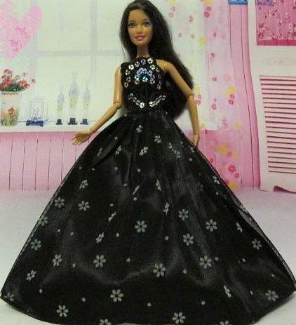 Barbie Ballgown-Modest Barbie Clothes-Shoes