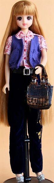Barbie Casual Wear Pants Shirt Vest Belt Purse Shoes