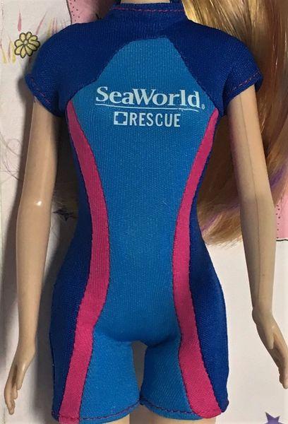 SeaWorld Rescue Barbie Bathing Suit-Modest Barbie Clothes