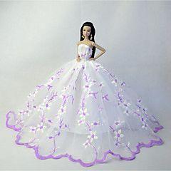 Barbie Gown-Modest Barbie Clothes-Shoes