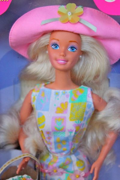 1997 Easter Style Barbie Doll Mattel