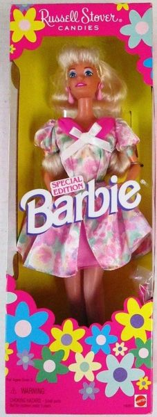 1996 Russell Stover Candies Special Edition Barbie Doll