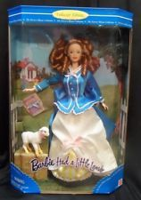 1998 Barbie Had a Little Lamb Doll 1st in Nursery Rhyme Series