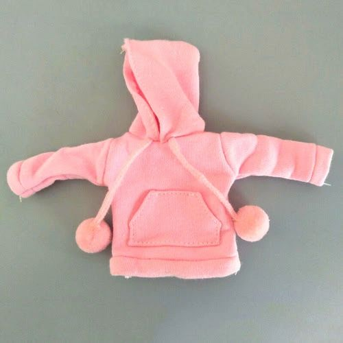 Barbie Pink Hooded Sweat Jackets With Pockets & Pom Poms