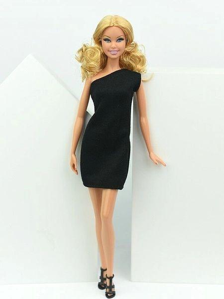Barbie Black Dress Barbie Evening Dress Little Black Dress