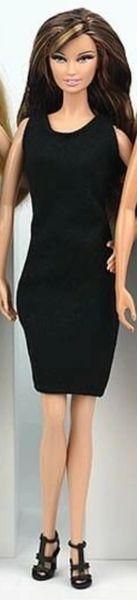 Barbie Black Dress Barbie Clothes Little Black Dress Barbie Evening Dress