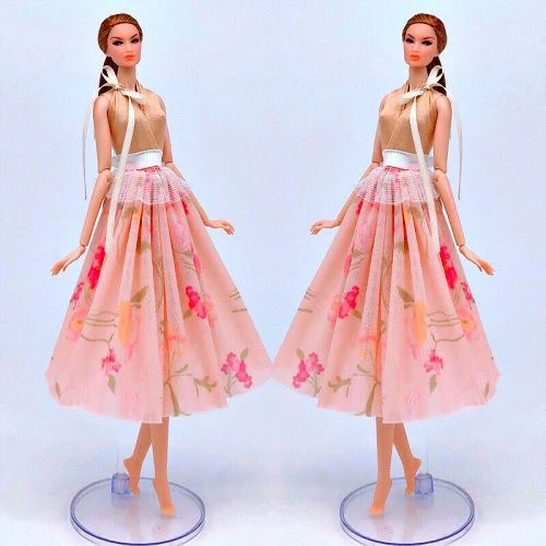 Barbie Dress Fancy Pink Barbie Dress