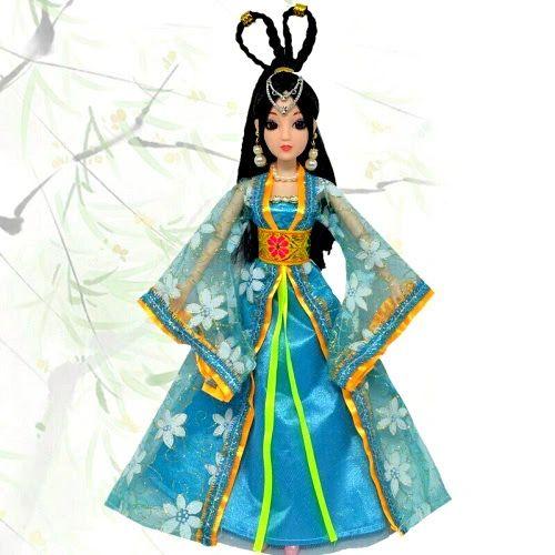 Barbie Gown Barbie Clothes Barbie Oriental Robe Barbie Dress 1