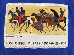 Post Office Kiowa Mural Tshirt