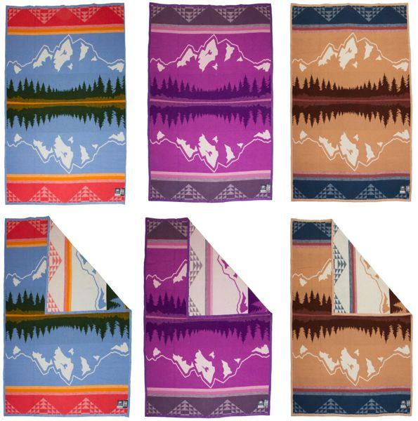 The Grand Teton Winter Weight Blanket
