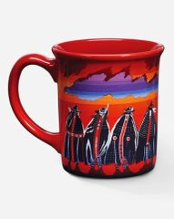 Pendleton Rodeo Sisters Ceramic Mug