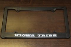 Kiowa Tribe License Plate Frame