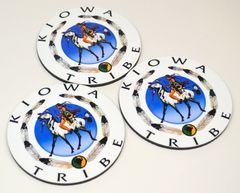 Kiowa Tribe Coaster