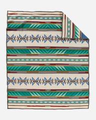 Pendleton Turquoise Ridge Robe Blanket