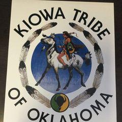 Kiowa Tribe of Oklahoma Logo Poster