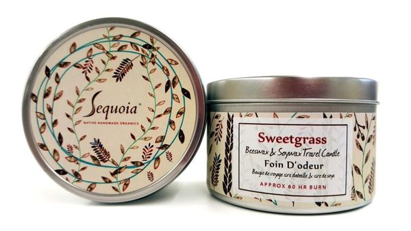 Sequoia Sweetgrass Candle 30hr