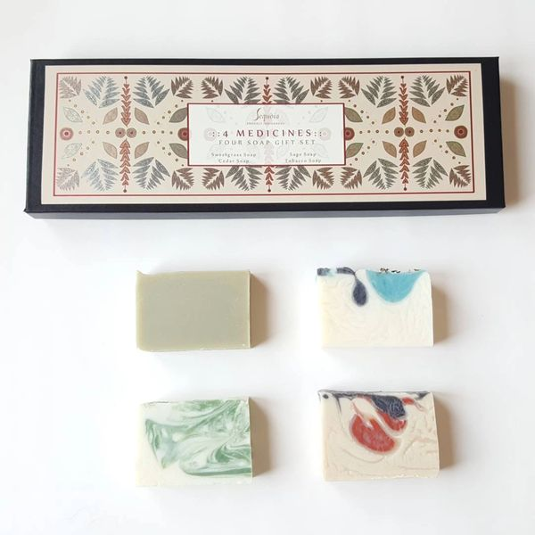 Sequoia Four Medicines Four Soap Gift Set