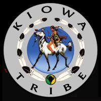 Kiowa Tribe 4 x 4 Clear Sticker