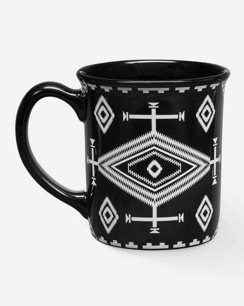 Pendleton Los Ojos Black Ceramic Mug