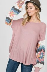 Evelyn Top - Mauve