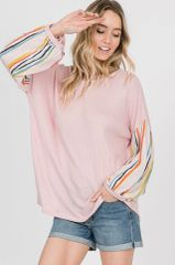 Abigail Top - Blush