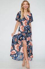 Audrey Dress - Navy