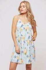 Brooklyn Dress - Blue