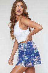 Paisley Skirt - Blue