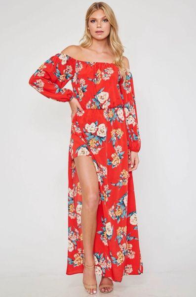 Maya Dress - Red