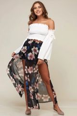Aaliyah Skirt - Black