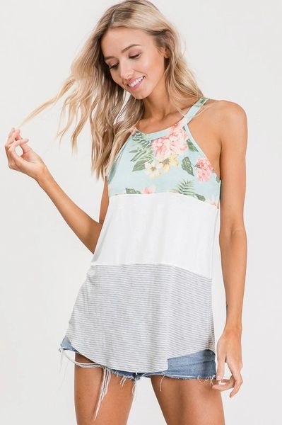 Madelyn Top - Mint