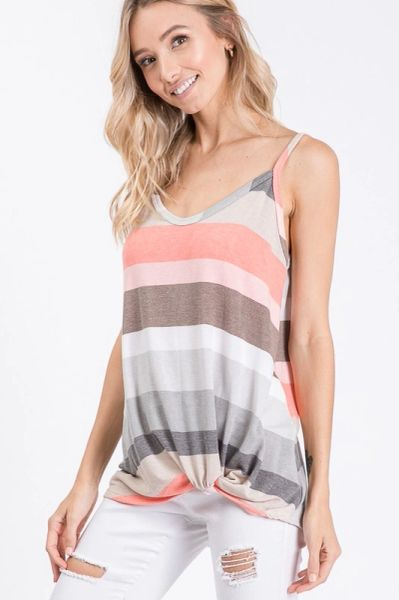 Gianna Top - Coral